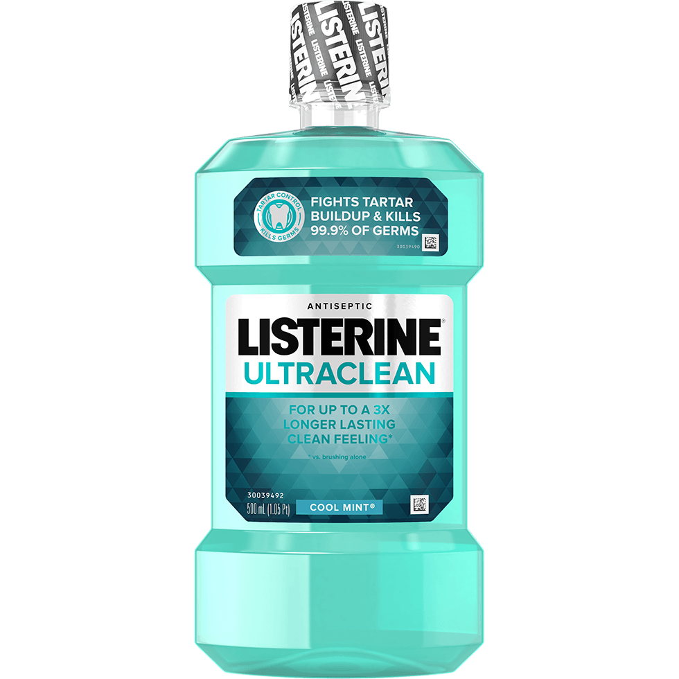Enjuague bucal LISTERINE® ULTRACLEAN® en sabor cool mint