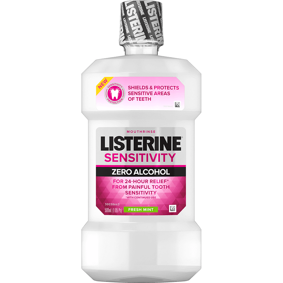 Enjuague bucal LISTERINE® Sensitivity Zero Alcohol