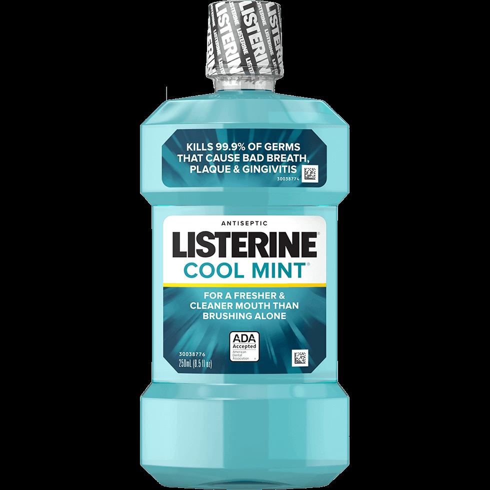 Enjuague bucal antiséptico LISTERINE® Cool Mint