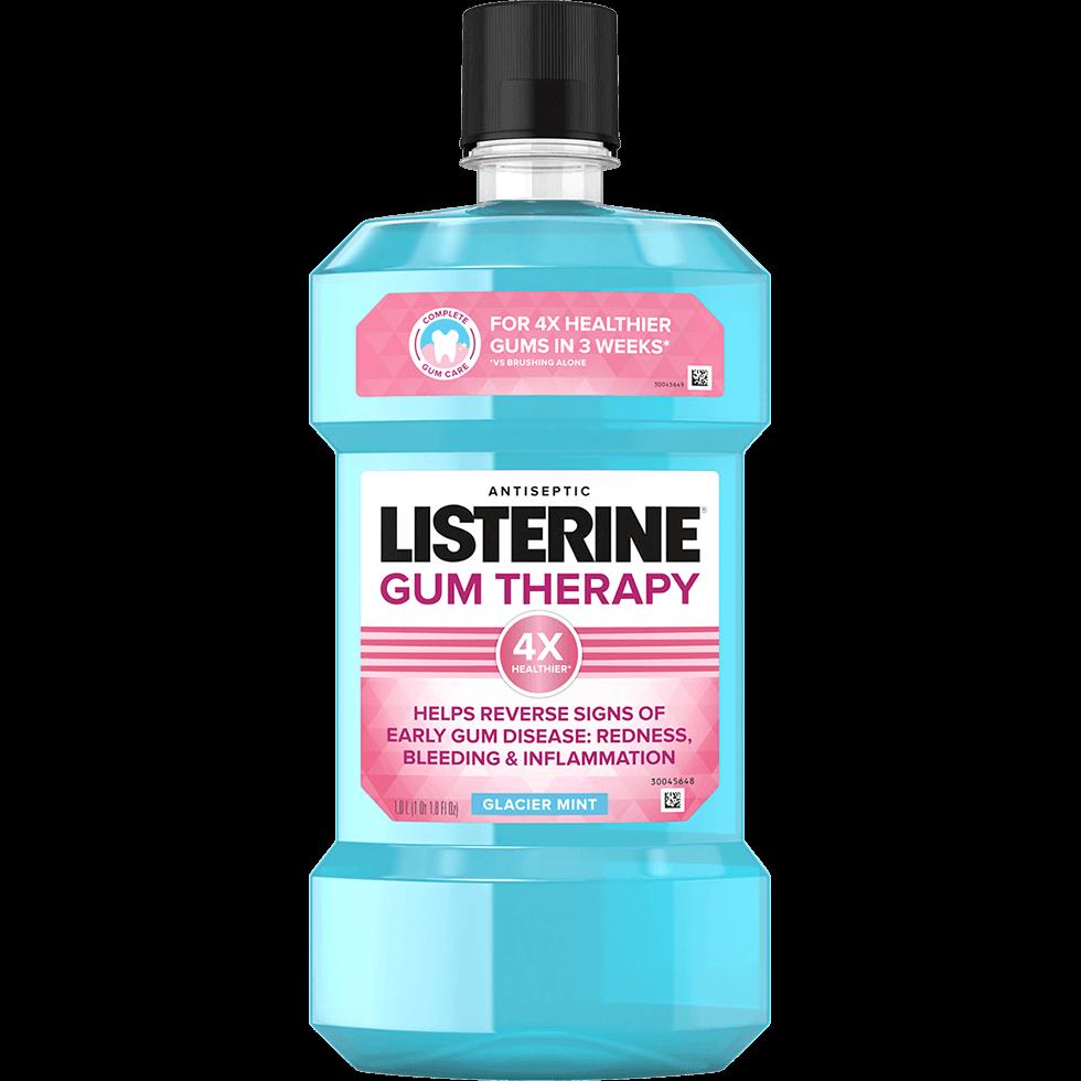 Enjuague bucal antiséptico LISTERINE® para el tratamiento de las encías
