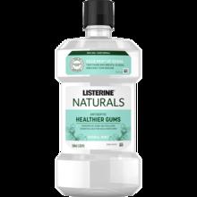 Imagen del producto enjuague bucal sin flúor LISTERINE® NATURALS CON SABOR A MENTA