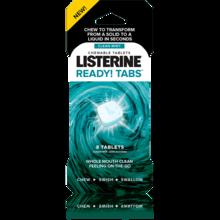 Comprimidos masticables de menta Imagen de los comprimidos masticables de mentaTABS™