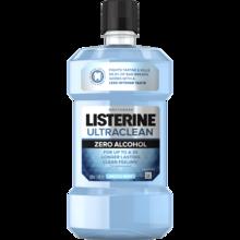 Imagen del enjuague bucal para controlar el sarro LISTERINE® ULTRACLEAN® ARCTIC MINT® Zero Alcohol